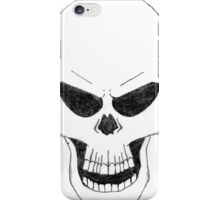 Angry Skull iPhone Case/Skin