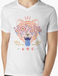 Eyes of the Tiger Mens V-Neck T-Shirt