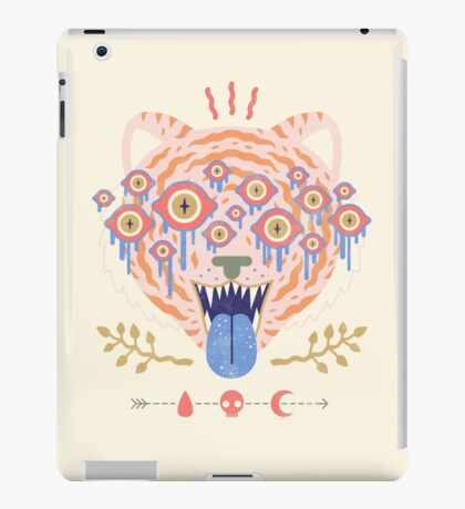 Eyes of the Tiger iPad Case/Skin