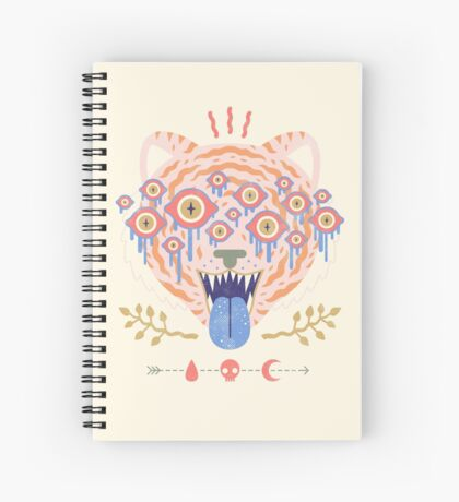 Eyes of the Tiger Spiral Notebook