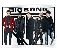Big Bang - logo group Poster