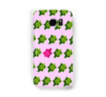 Pink Turtle Walking Against The Flow Samsung Galaxy Case/Skin