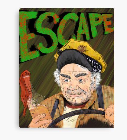 Cabbie's Escape! Canvas Print