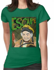 Cabbie's Escape! Womens Fitted T-Shirt
