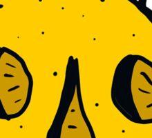 """""""Citric Acid"""" Orange Sticker"""