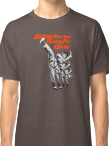 Kung Fu Attack Girls Classic T-Shirt