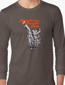 Kung Fu Attack Girls Long Sleeve T-Shirt