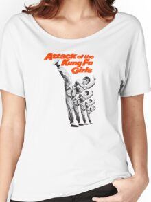 Kung Fu Attack Girls Women's Relaxed Fit T-Shirt