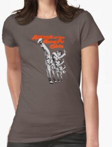Kung Fu Attack Girls Womens Fitted T-Shirt