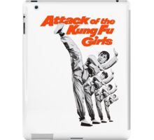 Kung Fu Attack Girls iPad Case/Skin