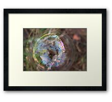 Genesis 1:27 So God created mankind in his own image, in the image of God he created them; male and female he created them. Framed Print