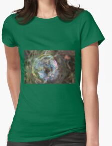 Genesis 1:27 So God created mankind in his own image, in the image of God he created them; male and female he created them. Womens Fitted T-Shirt