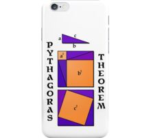 Pythagoras Theorem geometrical proof iPhone Case/Skin