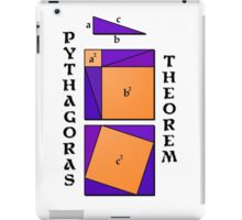 Pythagoras Theorem geometrical proof iPad Case/Skin