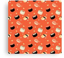 Sushi Sushi Canvas Print