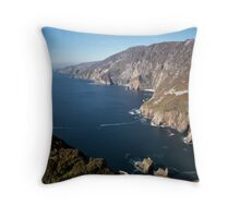 Stunning Slieve League Throw Pillow