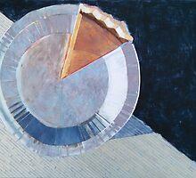 """Pie on edge"" by Richard Robinson"