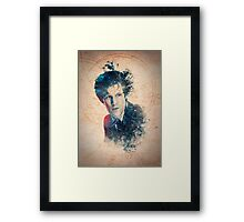 Matt Smith - Doctor Who #11 Framed Print