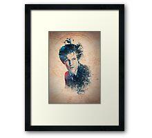 Matt Smith - Doctor Who #11 Framed Print