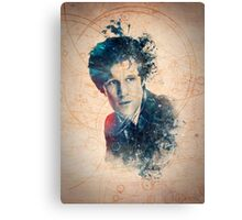 Matt Smith - Doctor Who #11 Canvas Print
