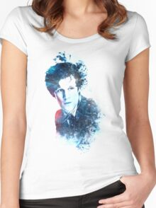 Matt Smith - Doctor Who #11 Women's Fitted Scoop T-Shirt
