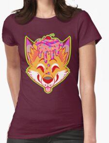 Cupcake Fox Womens Fitted T-Shirt