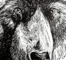 Drunk Grizzly Sticker