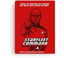 Starfleet Command enlist Canvas Print
