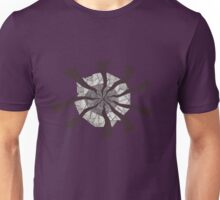 BW Swirl Ellipse Unisex T-Shirt