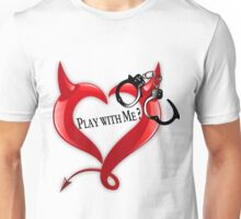 Devil Heart and Handcuffs Unisex T-Shirt