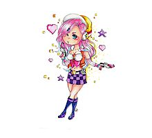 Chibi Arcade Miss Fortune Photographic Print