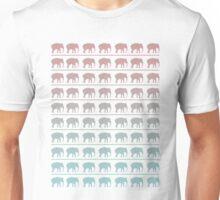 Elephant's Marching Pattern Unisex T-Shirt