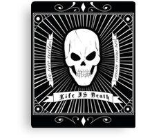 Life=Death Canvas Print