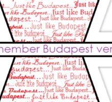 Budapest Sticker