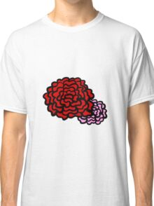Red and Pink Classic T-Shirt