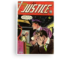 Badge of Justice No. 22 Canvas Print