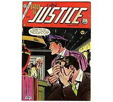 Badge of Justice No. 22 Photographic Print
