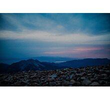 Lone Peak Photographic Print