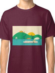 Sunrise at the Port Classic T-Shirt