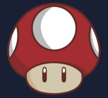 Mario Mushroom One Piece - Short Sleeve