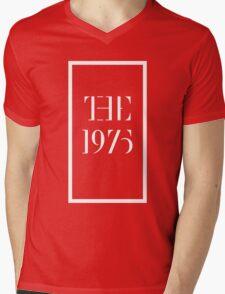 1975 white Mens V-Neck T-Shirt