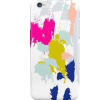 Acrylic paint brush strokes. iPhone Case/Skin