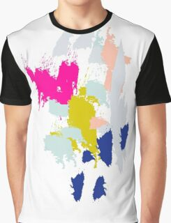 Acrylic paint brush strokes. Graphic T-Shirt
