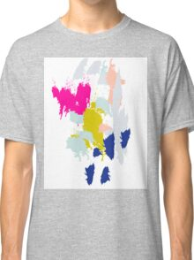 Acrylic paint brush strokes. Classic T-Shirt