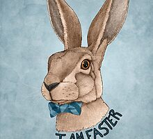 Mr Hare Is Faster by barruf