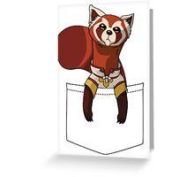 Pabu?!! Greeting Card