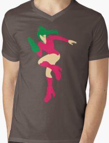 Justin Bailey Blocky Mens V-Neck T-Shirt