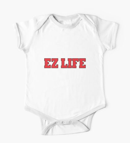 EZ LIFE (Red) One Piece - Short Sleeve