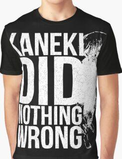 Kaneki Ken! (white) Graphic T-Shirt