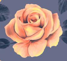 Flower Pattern Design Sticker